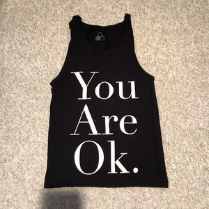 """""""You Are Ok"""" Tank Top"""